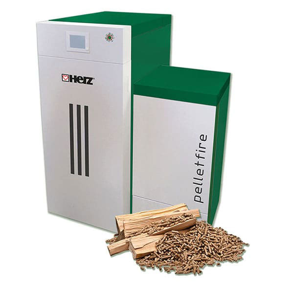 Cazan combinat gazeificare peleti - herz bioenergy