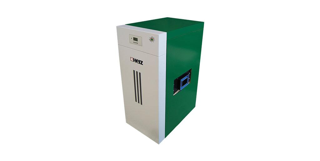 Cazan combinat gazeificare peleti - herz bioenergie