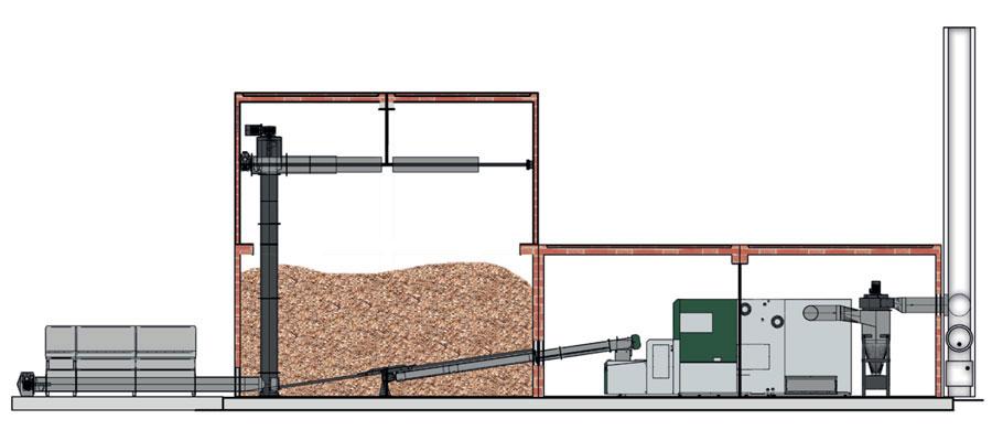alimentare eficienta a camerei de depozitare de la - herz bioenergie