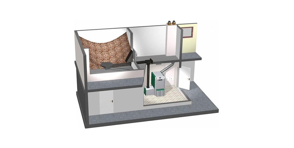 cover Sisteme de depozitare si tehnica de transport pentru aschii de lemn sau peleti - herz bioenergie