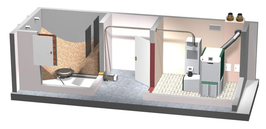 sisteme de depozitare si tehnica de transport pentru peleti - herz bioenergy